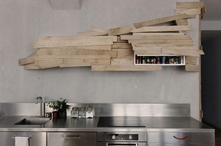 Kuhinjski elementi kao drvena skupltura