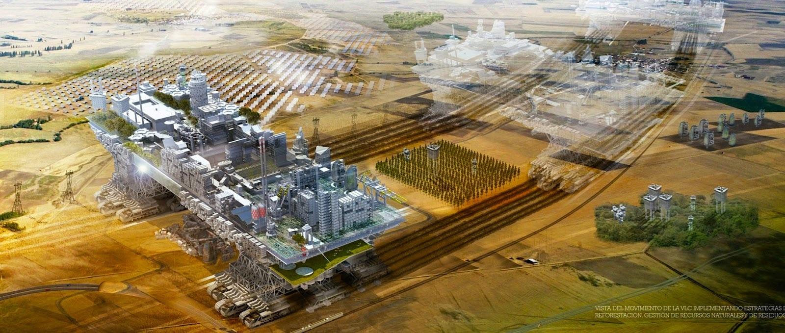 Gradovi će prohodati! Utopija ili bliska budućnost 21. veka?