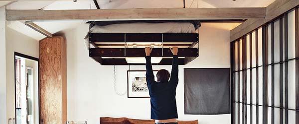 Lift krevet: Sjajna ideja za male stanove
