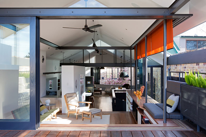 Industrijsko skladište pretvoreno u moderan stambeni prostor