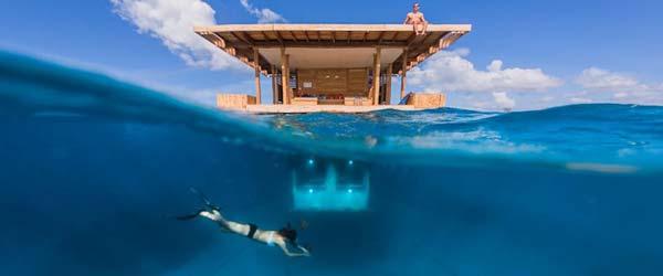 Spavajte s ribama u podvodnom hotelu u Africi