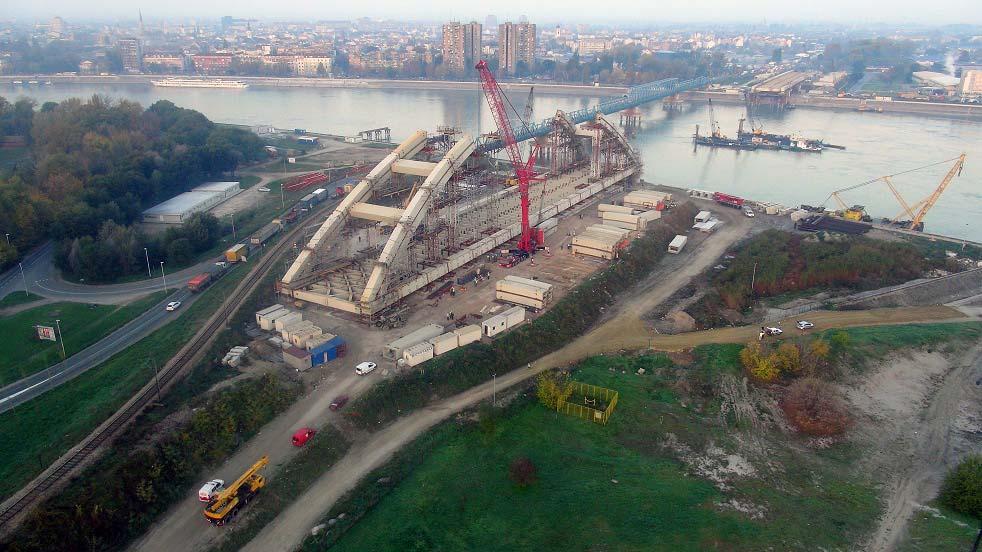 FOTO: Kako napreduje Žeželjev most