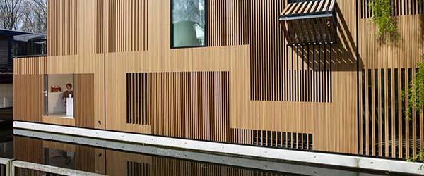 Luksuzni plutajući eko dom u Amsterdamu