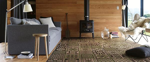 Keramički mozaik koji imitira tepih