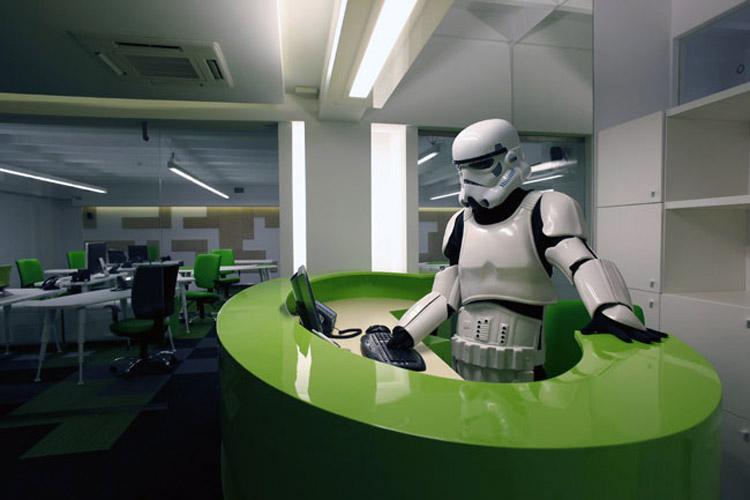 Video-igre i biznis: Kancelarije firme Computer Land