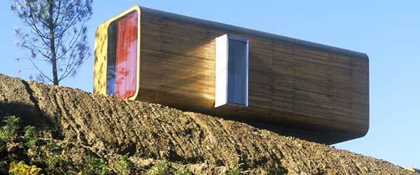 Kuće poput kioska: Domovi koji se prenose helikopterom