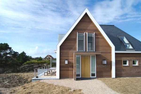 Skladna kuća od prirodnih materijala