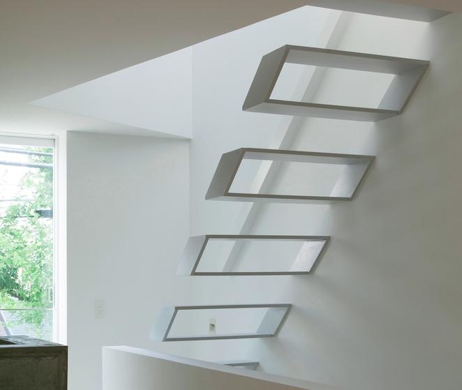 Konzolno stepeniste gradnja - Escalera japonesa ...