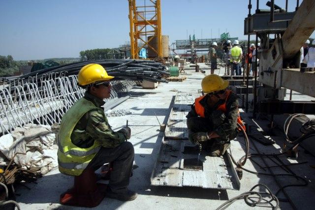 Novi Kineski most spojio Zemun i Borču