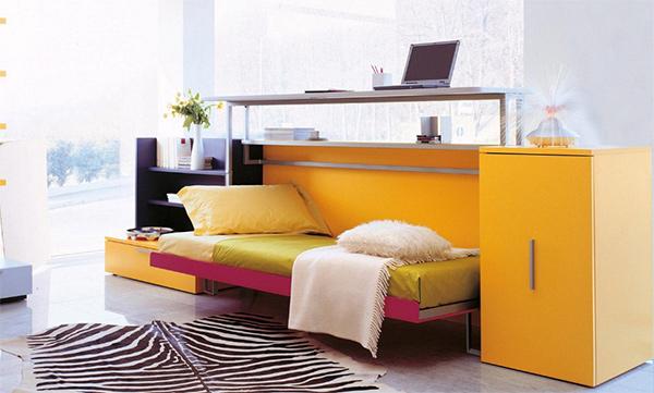 Zidni kreveti koji štede prostor u dečijoj sobi