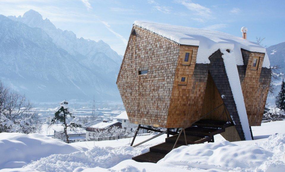 Kuća na štulama: Planinska koliba koja izgleda kao NLO