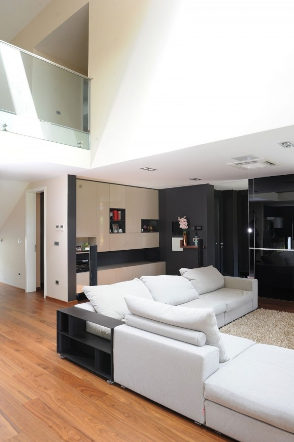 black-residence-in-ljubljana-living-room-view-and-upper-floor