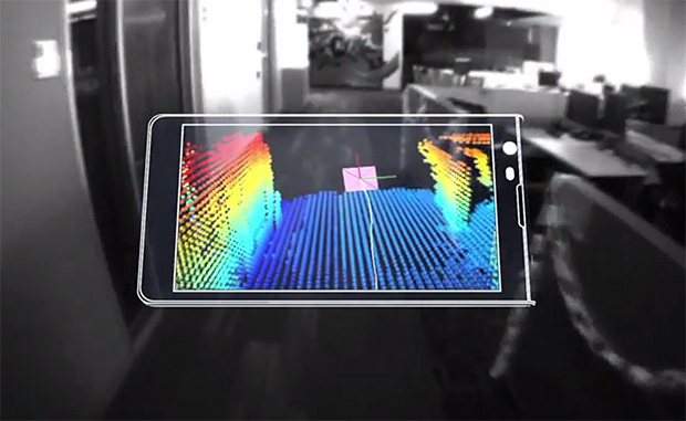 Google Tango pretvara telefon u alatku za mapiranje prostora