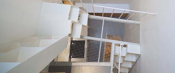 Život u kuli: 25 kvadrata na četiri nivoa