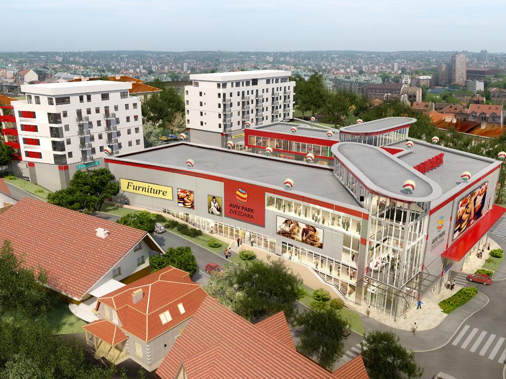 Aviv Arlon: Pogledajte kako će izgledati novi tržni centar na Zvezdari