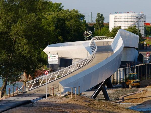 Brücke am Ölhafen, Raunheim