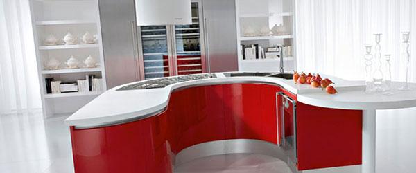 Polukružne kuhinje: Atraktivno rešenje prostora