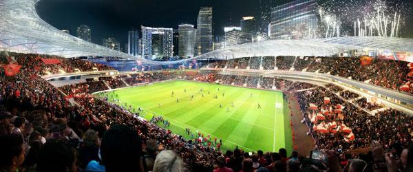 Ovako će izgledati stadion Dejvida Bekama u Majamiju