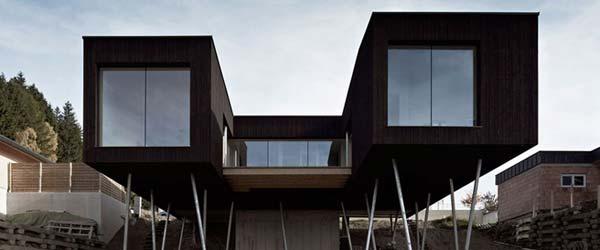 Dobar pogled: Kuća u obliku dvogleda