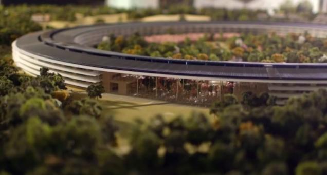 Unutar novog sedišta kompanije Apple (video)