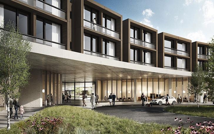 Bolnica u Danskoj stopljena s prirodom