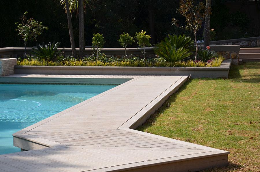 decking oko bazena