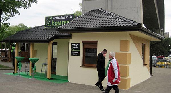Montažne kuće na Sajmu od 180 do 350 evra po kvadratu