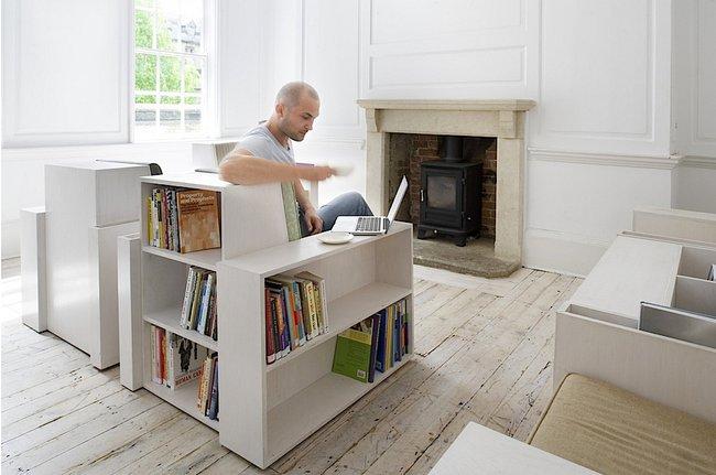 OpenBook: Fotelja koja služi i kao biblioteka