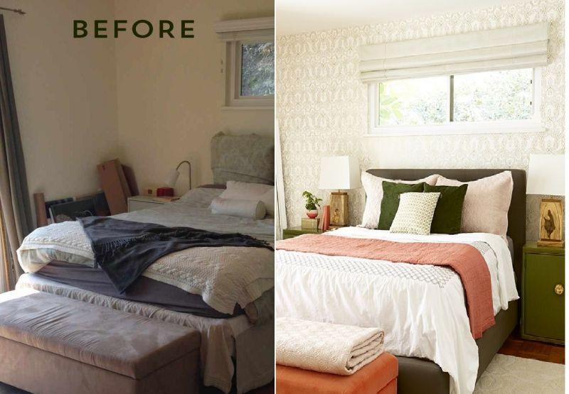 Pre i posle: Transformacija spavaće sobe