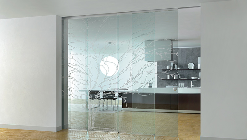 Klizna staklena vrata ramovi i izbor stakla for Divisori casa