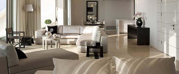 Opera penthouse: Elegantan stan u bež tonovima