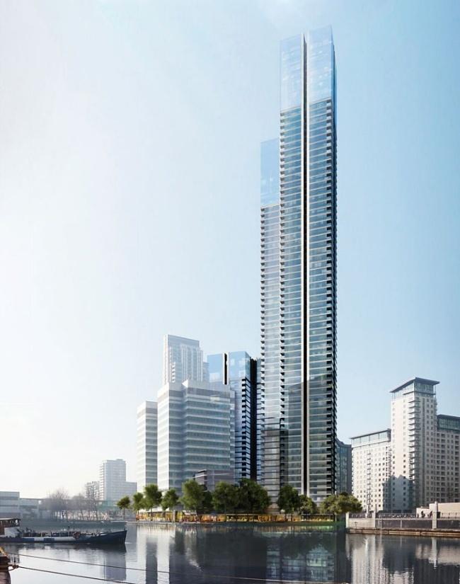 Gradi se najviša stambena zgrada u Londonu