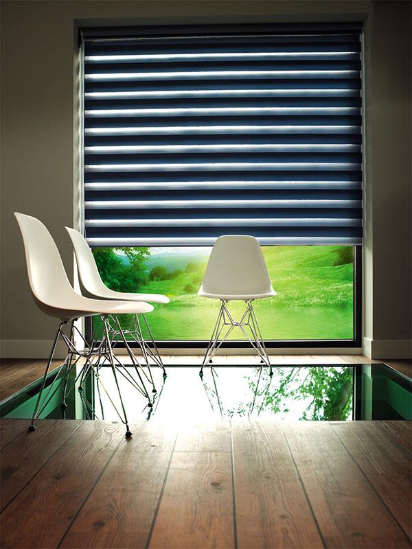 Zebra rolo-zavese lako regulišu nivo svetlosti u prostoriji