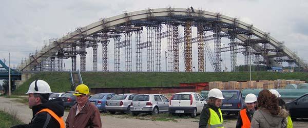 Raport s gradilišta Žeželjevog mosta: Rok kraj 2015.