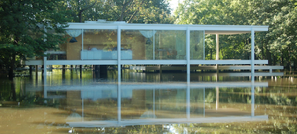 Farnsworth-House-podizanje-1