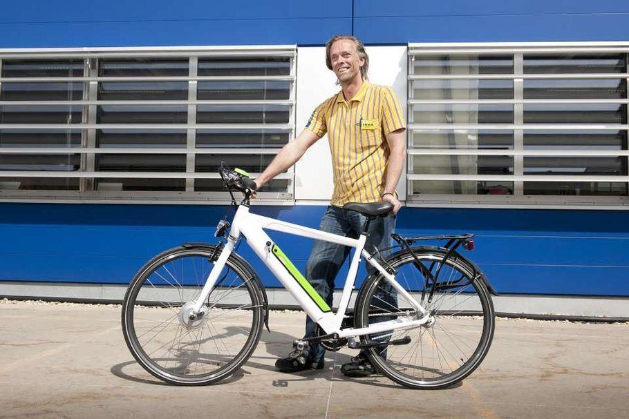Ikea pravi svoj prvi električni bicikl