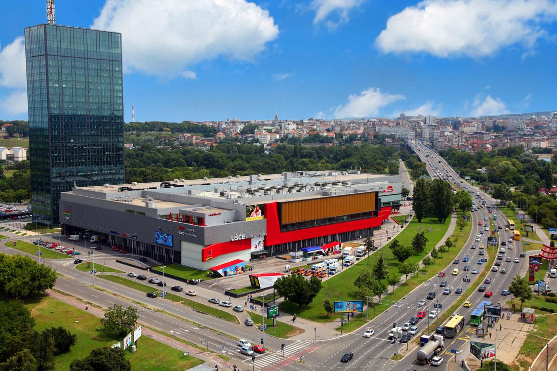 Tržni centar Ušće dobio LEED EBOM sertifikat