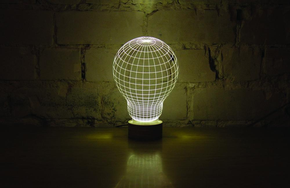 Bulbing: 2D lampe koje sijaju u tri dimenzije