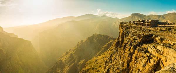 Utočište u Omanu na 2.000 metara nadmorske visine