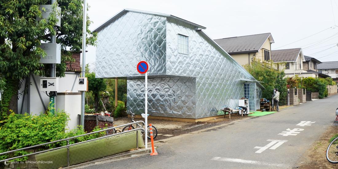 Kuća sa alumijumskom fasadom u Tokiju
