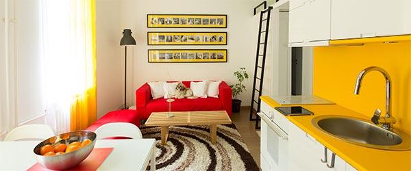Mali ali skladan stan za dvoje arhitekata