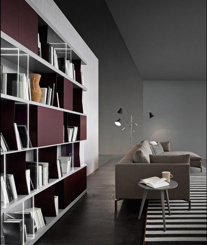 Biblioteka u stanu: Kako smestiti veliki broj knjiga