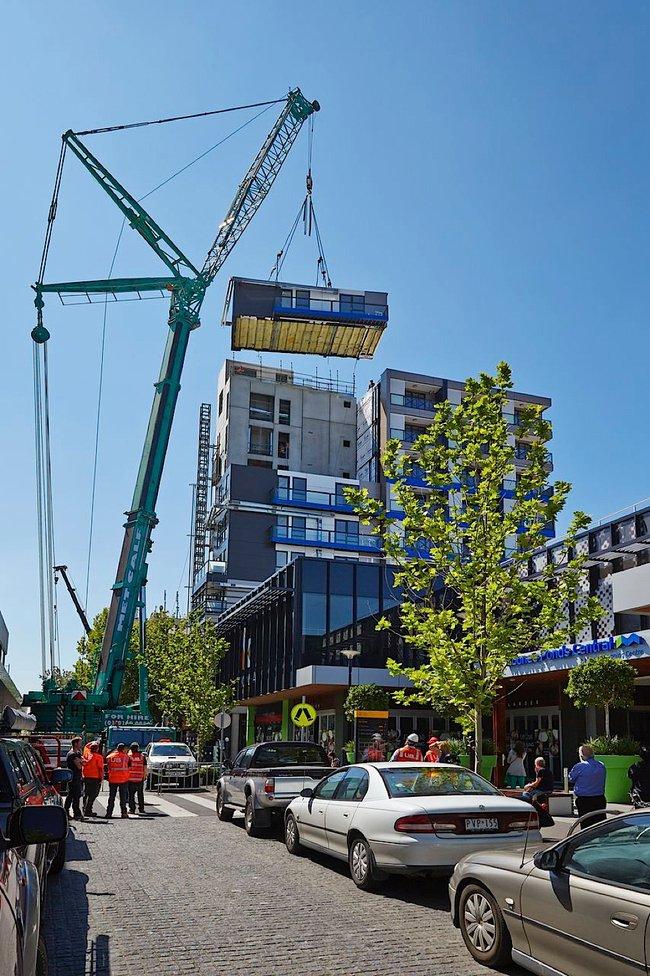 Rapidna gradnja: 9 spratova podignuto za 5 dana
