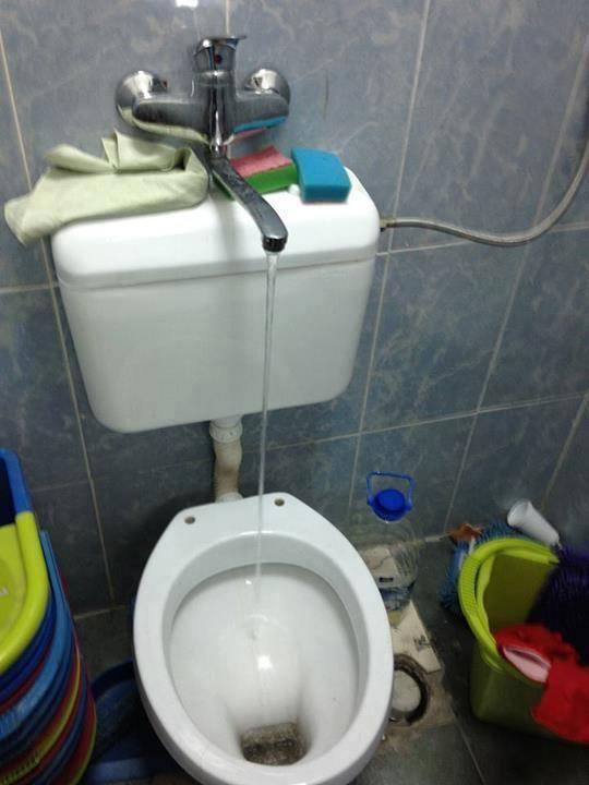 Kome još treba umivaonik? WC i slavina u jednom elementu