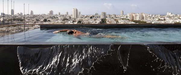 Luksuz u Tel Avivu: Penthaus s bazenom na terasi