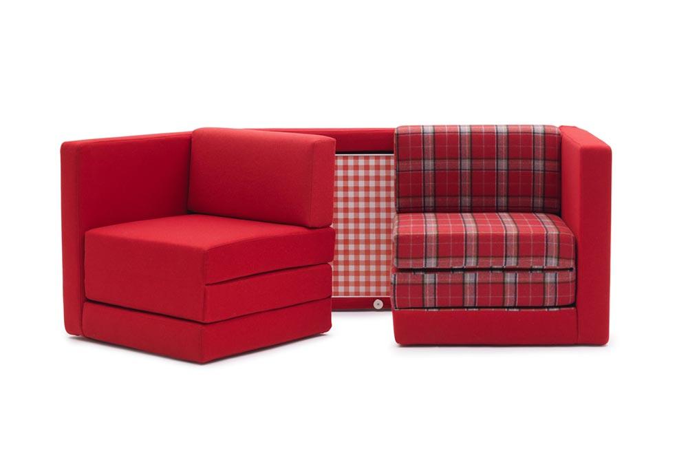 Transformer nameštaj: Sofa, krevet i trpezarijski sto u jednom elementu