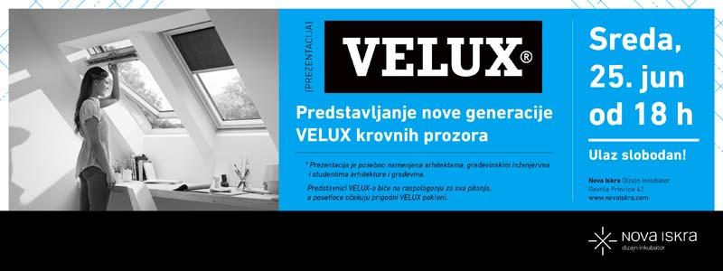 VELUX predstavlja novu generaciju prozora u Novoj Iskri