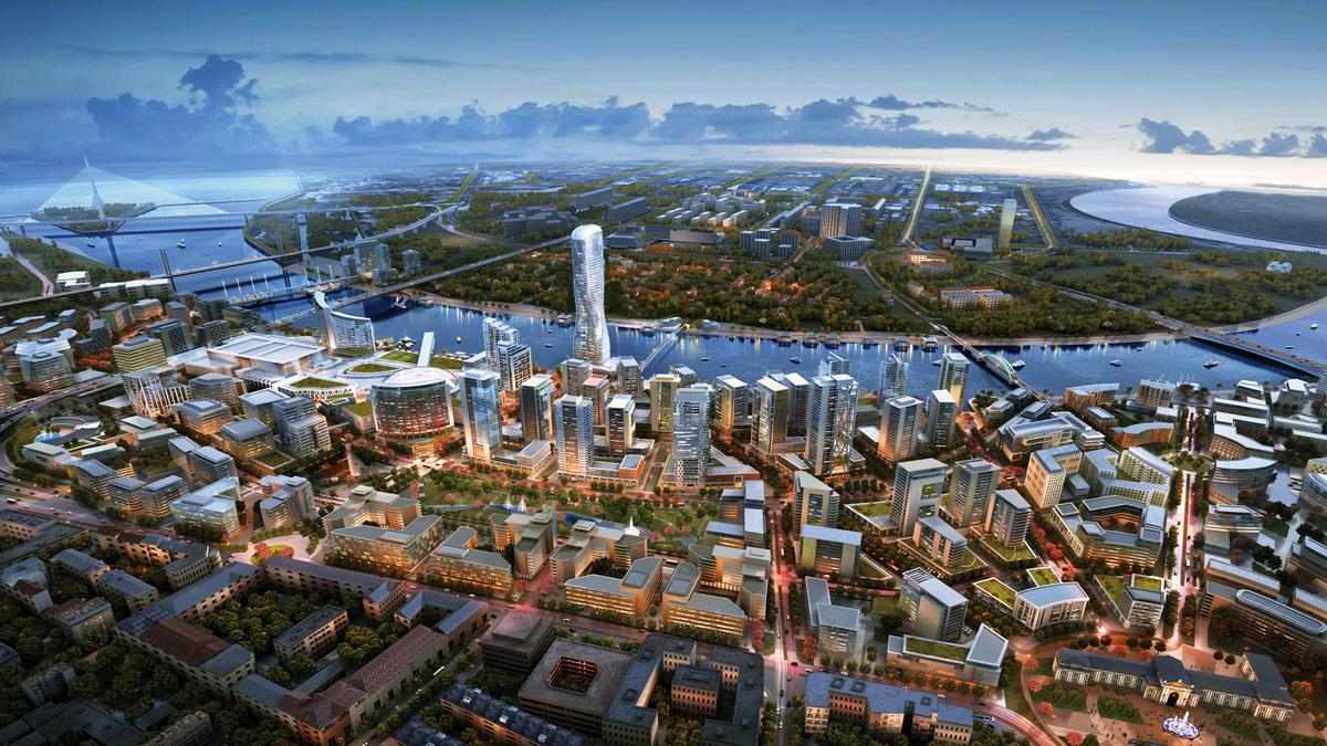 Novi renderi projekta Beograd na vodi