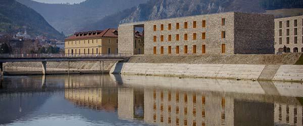Branislav Mitrović: Upravna zgrada Hidroelektrane na Drini