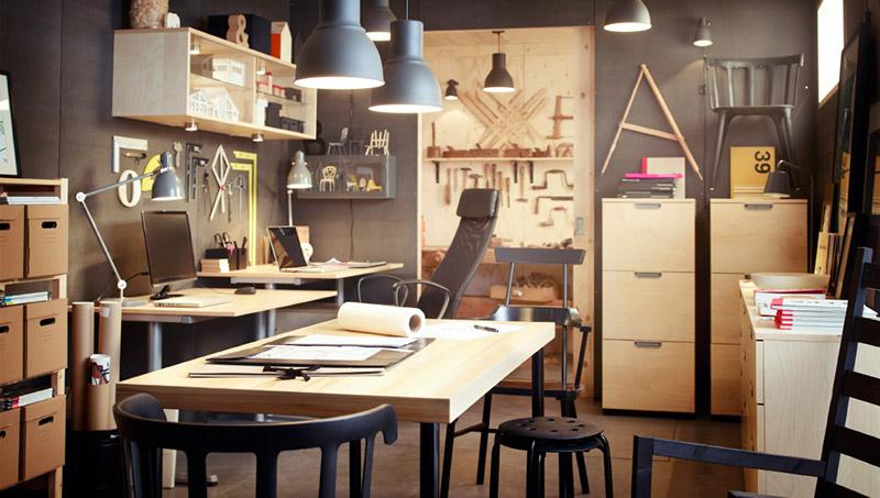 Ikea name taj za ure enje kancelarija for Design stanza ufficio